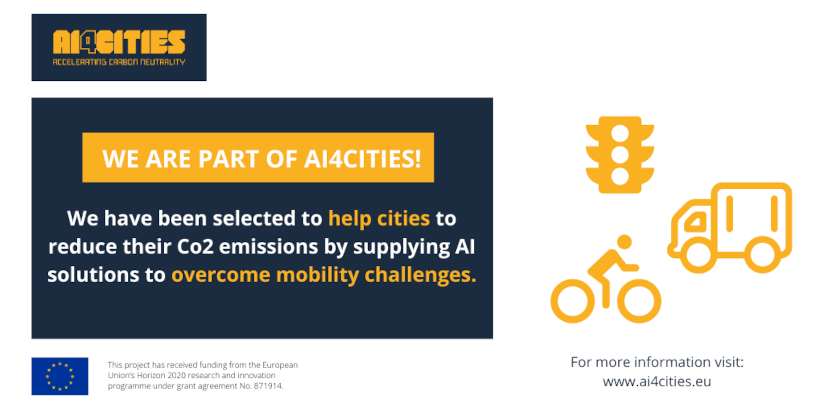 Simtelligence selected for AI4Cities